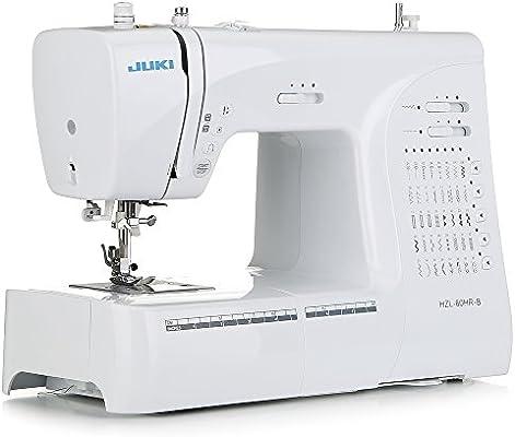 JUKI hzl-60hr-b máquina de Coser electrónica, Metal, Blanco, 40 x ...