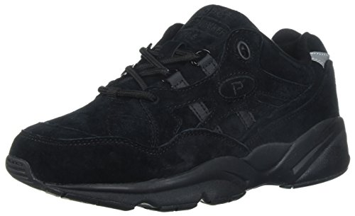 Suede Walker Propet Black Stability Stability Propet 1cq68Bv6P