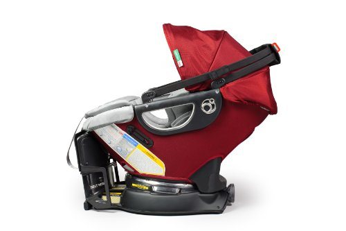 Orbit Baby Infant Car Seat and Base G2, Ruby Discontinued by Manufacturer