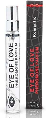 Eye Of Love - Romantic Pheromone Spray Perfume to Attract Women - Pheromones For Men - Extra Strength Human Pheromones Formula - 10ml