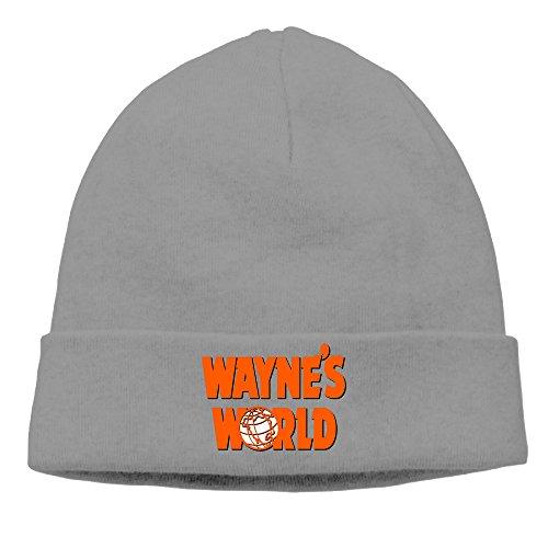 Snl Garth Algar Wig (DETED Men&Women Wayne's World Fold Beanie Cap Hat Fall/Winter 2016)