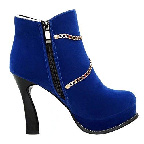 Con Stivali donna Autunno Aiyoumei eleganti Stivaletti catene scarpe scarpe catene   cb8501