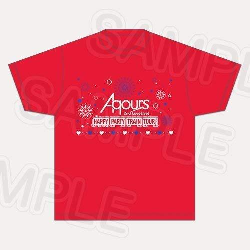 ラブライブ!サンシャイン!! Aqours 2nd LoveLive! HAPPY PARTY TRAIN TOUR Tシャツ Kの商品画像