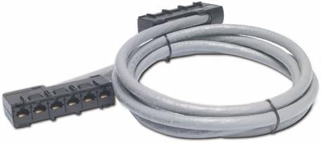 Gray APC DDCC5E-019 19-Feet CAT 5E Straight Through UTP CMR Data Distribution Cable