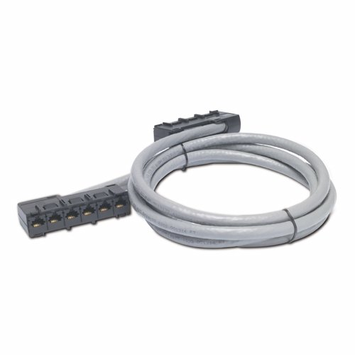 27FT Data Distribution Cable CAT5E UTP Cmr Gray 6XRJ-46