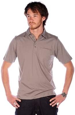 Blurr Casanova Polo Camiseta Camiseta para Hombre, Hombre, marrón ...