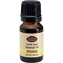 Fennel 100% Pure, Undiluted Essential Oil Therapeutic Grade - 10 ml. Great for Aromatherapy!