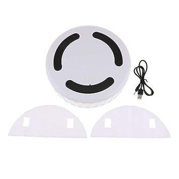 SM SunniMix Limpiador Automático de Polvo de Robot Aspirador Automático Casero Elegante: Amazon.es: Hogar