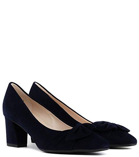 Con Azul Zapatos Cerrada Gesina Tacón De Kaiser Mujer Peter Punta Para xXPBaqwR