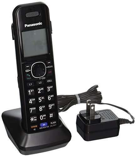 Panasonic KXTGA950B Dect_6.0 2 Line Extra Handset for KX-TG95XX Series Telephones (Cordless Series Dect Phone)