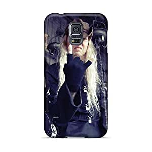 Scratch Resistant Hard Phone Covers For Samsung Galaxy S5 (nka10875nfYZ) Allow Personal Design Trendy Nevermore Band Pattern