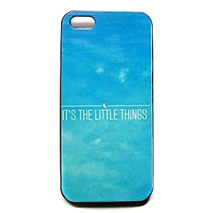 TOPQQ Verse Phrase Pattern Hard Case for iPhone 4/4S