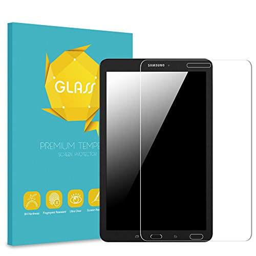 Fintie Samsung Galaxy Tab A 8.0 (2015) Tempered Glass Screen Protector, Anti Scratch Premium HD Clear 9H Hardness Compatible Galaxy Tab A 8.0 SM-T350/P350 2015 (NOT Fit 2017/2018 Version)