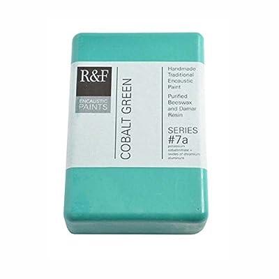 R&F Encaustic 333ml Paint, Cobalt Green Light
