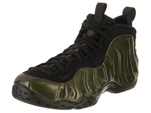Nike Men's Air Foamposite One Legion/Green/Black/Black Basketball Shoe 12 Men US