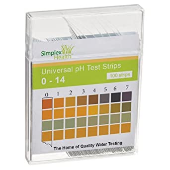 Colorphast ph test strips wine