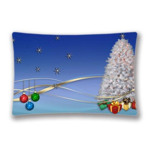 Cute Halloween Screensaver (Home Decor Screen Savers Christmas 216 Standard Pillow Protector Zippered Queen Size Pillow Covers Cushion Case 20X36 Inch)