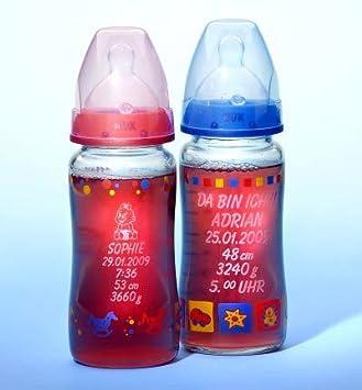 babyflaschen mit namen