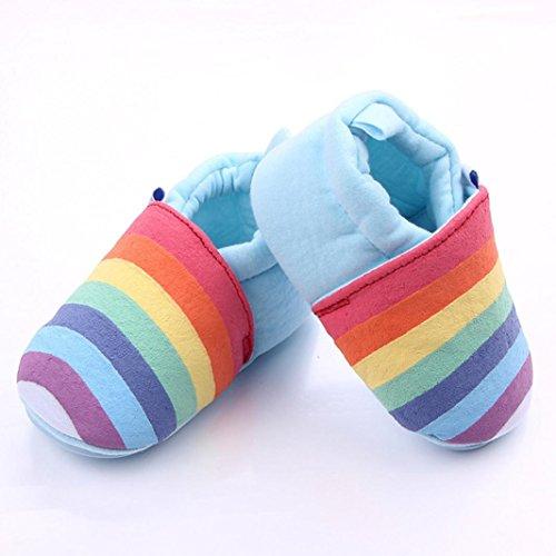 Janly Baby Kleinkind Baumwolle Multicolor Krippe Schuhe atmungsaktiv Kind Schuhe Sneaker