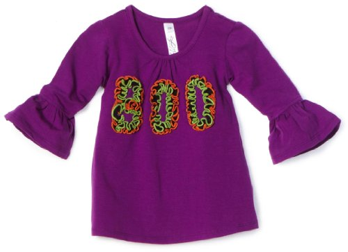 Love U Lots Baby Girls' Ruffle Boo Gathered Neck Tunic Top