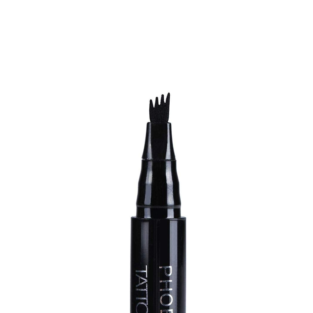 tonsee_beauty PHOERA Makeup Tattoo Eyebrow Pen, Waterproof Pencil Long Lasting Fork Tip Sketch(3) mj-28