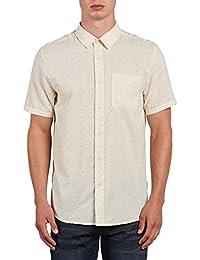 Mens Dobler Short Sleeve Button Up Solid Shirt