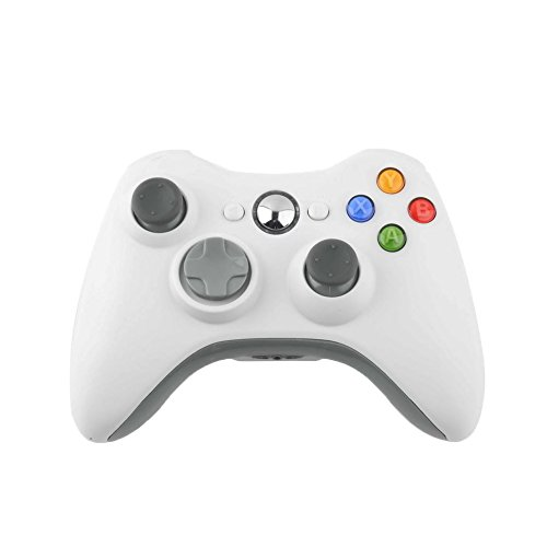 Wireless Game Remote Controller for Xbox 360 +Receiver White - 4
