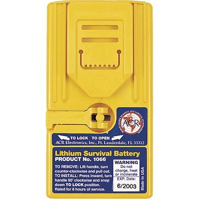 ACR Lithium Survival Battery f/2626, 2727 & 2726A GMDSS Radios [1066] (Gmdss Radio Survival)