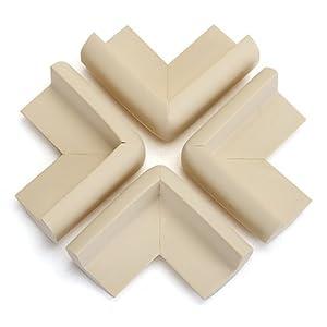 4 x Protector Esquina Mesa Mueble Antigolpes Seguridad para Niños Bebé
