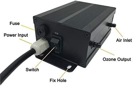 GRASSAIR Purificador De Agua De Ozono SPA Y Piscina Generador De Ozono 220V 300Mg Ozonizador Piscina Purificador De ...