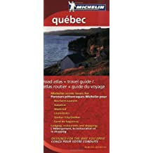 Michelin Quebec Regional Atlas and Travel Guide