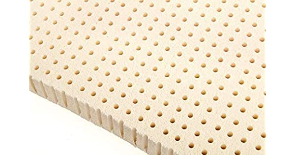 Amazon.com: 3 inch 100% Natural Latex colchón de espuma pad ...