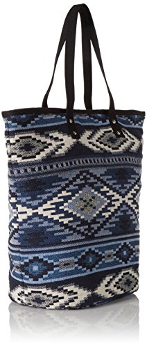 PIECES PCBELLE 17074691 Damen Shopper 40x43x7 cm (B x H x T) Blau (Allure) 5NB0AnP