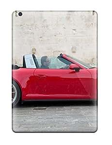 Shock-dirt Proof 2014 Porsche 911 Sport Car Case Cover For Ipad Air