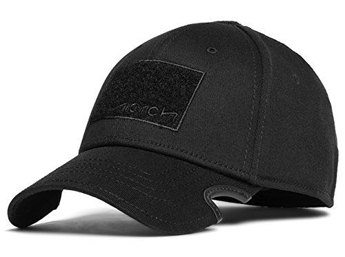 Notch Classic Stretch Fit Black Operator Cap L/XL