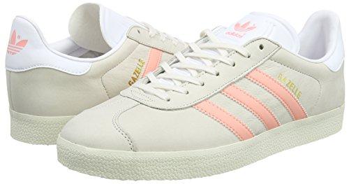 White Sneaker Gazelle White Breeze chalk Adidas Grigio footwear Donna still w4pfvnFnqg