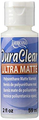 DecoArt Americana DuraClear Varnishes, 2-Ounce, Ultra (Clear Acrylic Varnish)