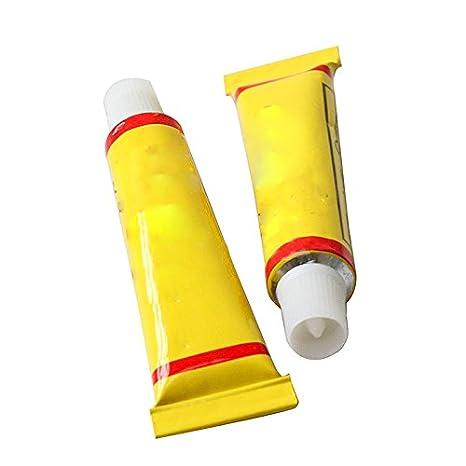 Humefor - 2 tubos de pegamento para reparación de pinchazos del ...