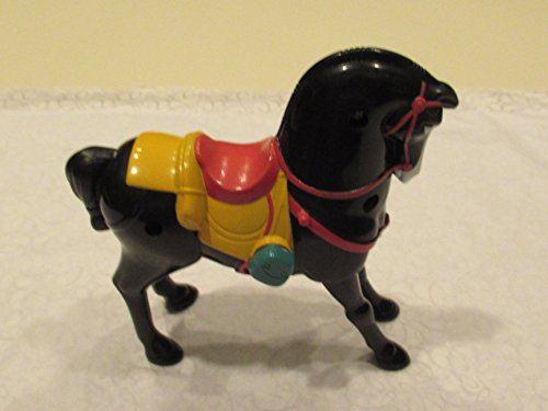 McDonalds Happy Meal Mulan 2 Black Horse 1999 EUROPEAN IMPORT by McDonalds Toys Mulan