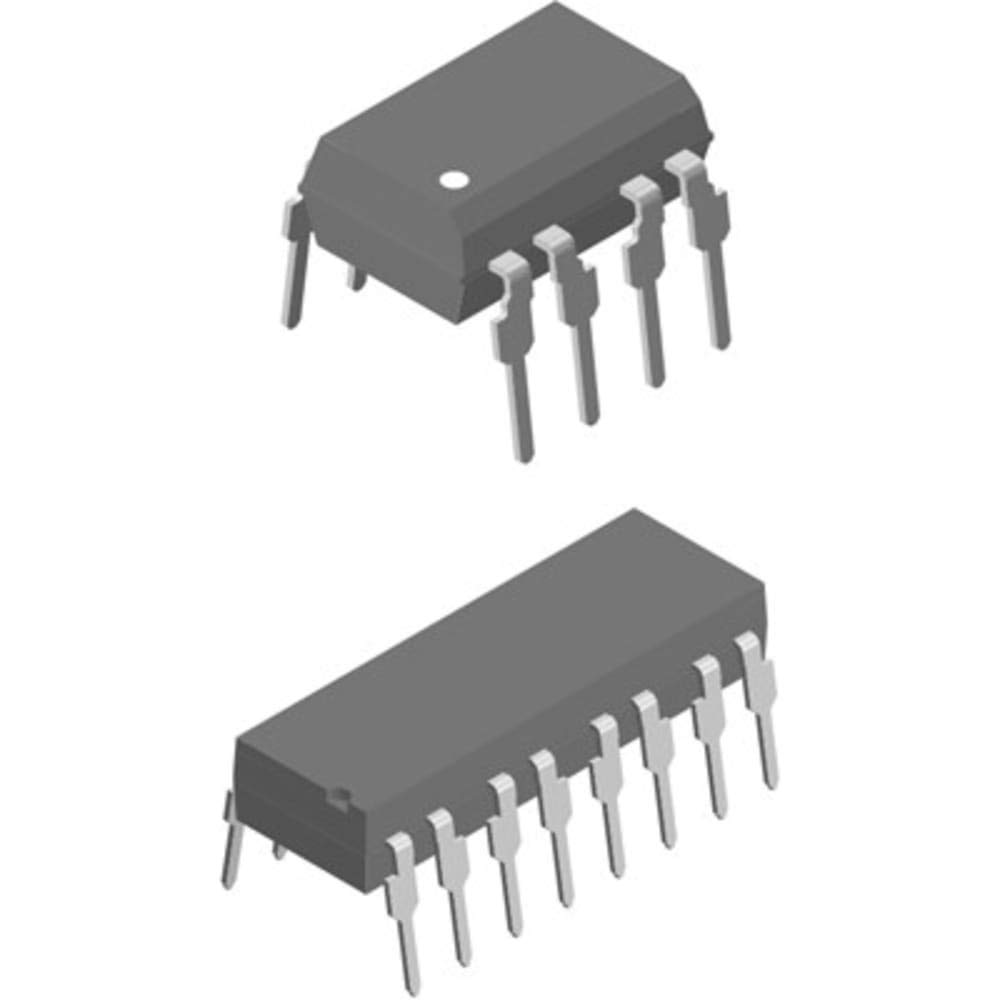 CNY74-2H DC Input Transistor Output Dual Optocoupler; Through Hole; 8-Pin PDIP, Pack of 100