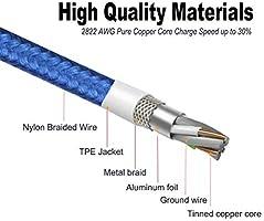 Amazon.com: HAAWIN - Cable magnético para cargador de ...