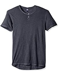 Men's Washed Slub Home Team Henley