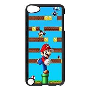 Super Mario ipod Touch 5 Case Black Phone Accessories JV22G494