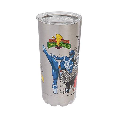 Vandor Power Rangers 20-Ounce Stainless Steel Vacuum Travel Tumbler - Rangers Tumbler