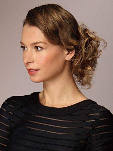 Swirlz Curly Wrap Color Dark Blonde - Revlon Hairpiece Overall Length 8
