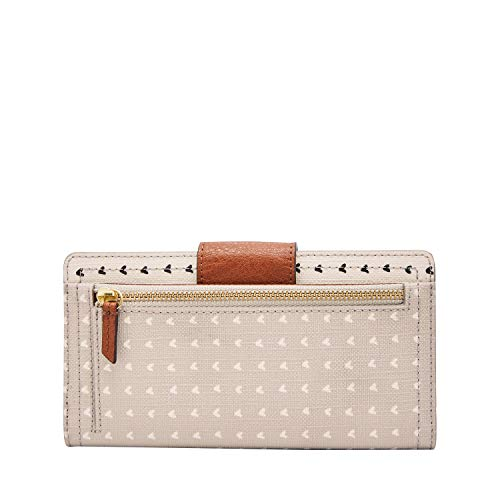 Fossil Logan RFID Tab Wallet, hearts by Fossil (Image #2)