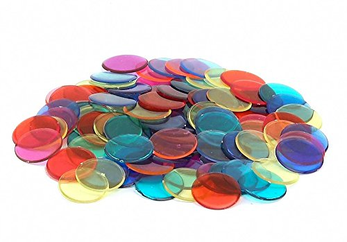 - Hygloss Products, Inc Bingo Chips 150 Overhead Colored Counters, Pcs