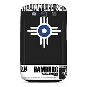 Samsung Galaxy S3 Kju19804NzFM Allow Personal Design Colorful Michael Stipe Pattern Scratch Resistant Hard Cell-phone Cases -AnnaDubois