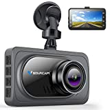 VStarcam Dash Cam 1080P Dash Camera for Cars,Super Wide Angle Car Camera with Super Night Vision,3' IPS HD Screen Dash Camera for Cars,Dashboard Cam with G-Sensor,WDR,Parking Monitor,Loop Recording