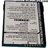 PDA Dantona PDA-243LI Lithium, Lithium Ion (ICR/CGR/LIR) Battery 3.7 Volts